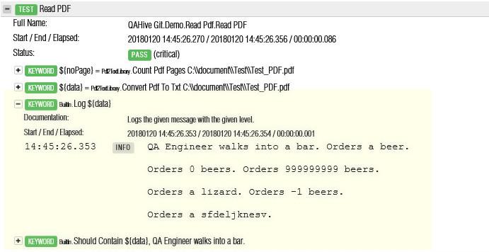 มาลองอ่านข้อมูลจากไฟล์ PDF กัน | QA Hive